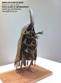 Simon Lee Spiderzero Sculpture