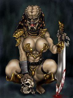 Human Female Predators | Female Predator.jpg