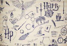 Si Potter Frenchy Party n'est pas devenu zinzin, que signifie ce drôle de titre ? Doodle : griffonnage que l'on effectue machinalement, lors...
