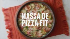 Massa de pizza fit | Dicas de Bem-Estar - Lucilia Diniz