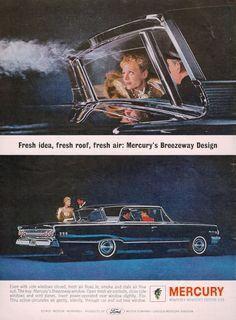 Mercury Monterey ad, 1963