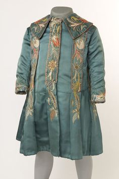 Uk (probably)  Date: 1880-1895Child's coat | | V&A Search the Collections