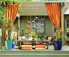 Consider Curtains for Backyard Privacy