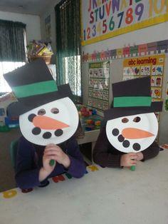 Snowman Mask