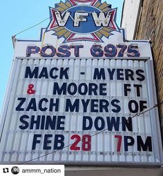 #Repost @ammm_nation: Bristol TN! Tonight come see @ZMyersOfficial @ZackMack513 & @JRMoore901 at Bristol at Patton Crosswhite! Who's going to the show?! #MackMyersMoore