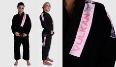 Kimono Pro Light Feminino Preto/Black - Adulto