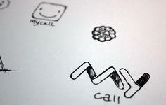 MyCall brand identity design