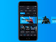 Steam App Redesign [Mobile] by Erik Padamans
