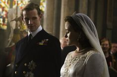 """The new Netflix historical drama """"The Crown,"""" focuses on the early days of Queen Elizabeth II's reign, and her marriage to Prince Philip."""