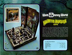 WDW Haunted Mansion Board Game.