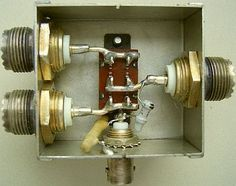 Antenna coaxcial switch