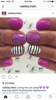 Extend style to your nails using nail art designs. Used by fashionable stars, these nail designs will incorporate instantaneous charm to your apparel. Get Nails, Fancy Nails, Love Nails, How To Do Nails, Pretty Nails, Hair And Nails, Manicure E Pedicure, Pedicure Ideas, Pedicure Colors