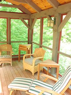 1000 Images About Screen Porch Sunroom Lanai Areas On
