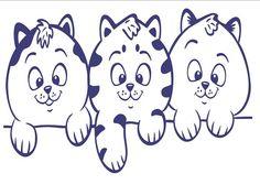 Sticker grafic Pisici