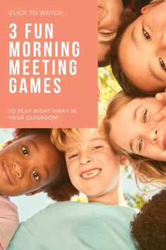I'm always looking for fun and QUICK morning meeting games to play in my first grade or kindergarten classroom. These 3 games are a mix of cooperative and academic! They are perfect because they only take about 5 minutes to play, but they're still a whole lot of fun! Head on over to the post to read more.