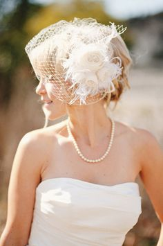 stunning hair piece and veil photographed by Matthew Morgan Photography #bride #veil #hairpiece http://matthewmorgan.net/