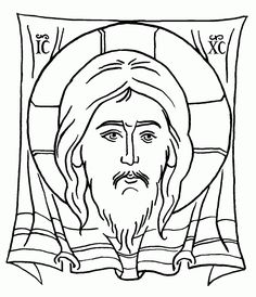 Icon-not-made-by-hands, pen and ink, by Scott Patrick O'Rourke