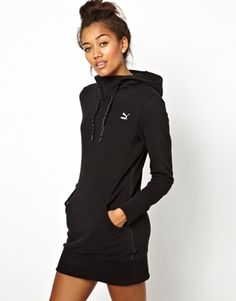 Puma Hoodie Dress. Need this for Cold Days