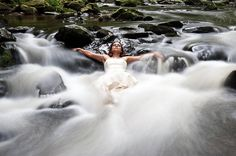 Trash the dress ideas...these are really pretty cool!  What else will you do with that dress???