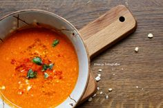 recipe of the week :: cremige schmortomaten suppe |