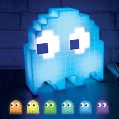 ★ NEW : Lampe Fantôme Pac-Man USB  ►►► http://ow.ly/MzVVV   Elle change de couleur avec la musique, elle se branche sur votre port USB mais elle ne fait le café hein.