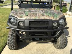 New 2016 Kawasaki Mule Pro-FX EPS Camo ATVs For Sale in Arkansas. 2016 Kawasaki Mule Pro-FX EPS Camo, 2017 Kawasaki Mule Pro-FX EPS Camo THE KAWASAKI DIFERENCE THE MULE PRO-FX EPS CAMO SIDE X SIDE FEATURES THE RICH PATTERNS OF REALTREE XTRA® GREEN CAMOUFLAGE THAT CAN HELP GET YOU INTO A PERFECT POSITION ON THE HUNT WITHOUT EVER BEING NOTICED. Massive Cargo Bed can fit a standard size 40x48 pallet with the tailgate closed Powerful 812cc 3-cylinder engine with massive torque, impressive…
