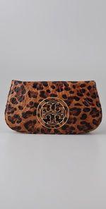 Leopard clutch?  Yes, please!