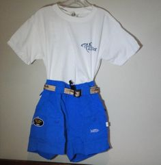 Aftco Fishing Shorts, Phin T-shirt and waterproof belts.  Perfect summer uniform for all boys.