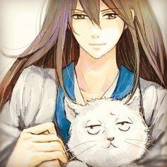 Cute xxx <3 #anime #gintama #gintoki #gintokisakata #katsura #zura