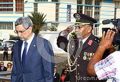 CAPE VERDE, PRAIA - JUL 05: President of Cape Verde, Jorge Carlos Almeida Fonseca. The 40th anniversary of Independence of Cape Verde, 5 July 2015 in Cape Verde, Praia.