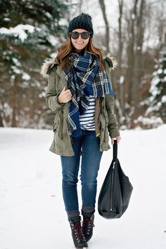 jillgg's good life (for less) | a west michigan style blog: my everyday style: snowy day!
