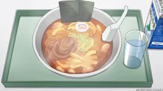 Anime Food Is Sugoi