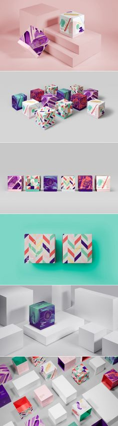 This Season Tea Collection Comes With Beautiful Artistic Patterns — The Dieline | Packaging & Branding Design & Innovation News