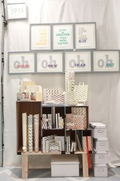 National Stationery Show 2011, Part 8: May Day Studio    Photo Credit: Brian Tropiano for Oh So Beautiful Paper