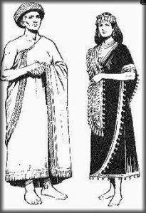 Vestimenta sumeria - ambos sexos usaban chal y faldas, flecos cada vez mas elaboradas anudados y con pedrería, decoraciones en bastillas. usaban lana, algodón y seda Ancient Near East, Textiles, Bronze Age, Fringes, Gowns, Fashion Outfits, History, Clothes, Dresses