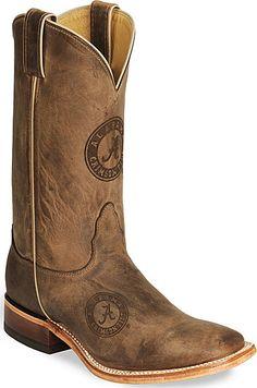 Nocoma Alabama Crimson Tide College Boots!  $209.99