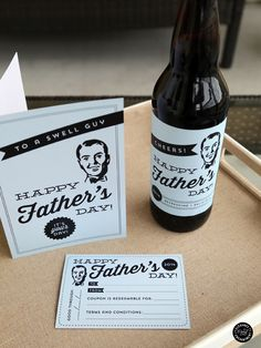 Father's Day Printable Card | TodaysCreativeBlog.net