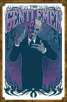 "The Gentlemen from ""Hush"" - Buffy the Vampire Slayer"