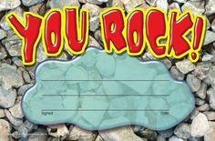 RECOGNITION AWARDS YOU ROCK. Fun, hip phrases appeal to kids of all ages. Energetic photos shout with celebration. Printer-compatible size makes giving easy. 30 per pack; Math Flash Cards, Creative Teaching Press, Recognition Awards, School Sets, Award Certificates, You Rock, Recorded Books, In This Moment