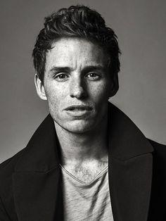 Sebastian Kim photographs Eddie Redmayne for Time Magazine, November 2014