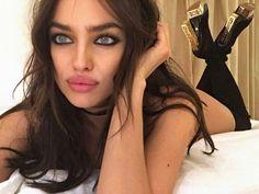 This face tho ❤ #IrinaShayk #WomanCrush