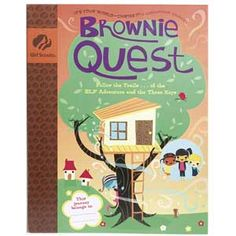 Girl Scout Shop - Brownie Quest Journey Book