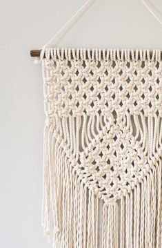 Macrame is a super popular diy trend. Check out these super easy macrame projects for the beginner. You can complete them in a weekend and make something totally unique for your home.