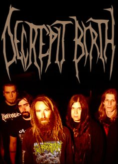 Decrepit Birth logo and band