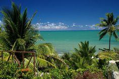 Vista da praia de Carapebus, em Conde, na Paraíba (foto: Eduardo Vessoni)