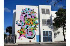 STREET UPDATE SPECIAL: WYNWOOD - REKA ONE http://www.widewalls.ch/street-update-special-wynwood/reka-one/ #streetupdate #special #ArtBasel #Miami #Wynwood #streetart #murals #RekaOne