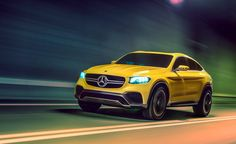 Mercedes Benz GLC Coupe Concept | Cool Material