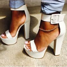 9f0a4cef9a5c 64 Best Chunky Block heels images