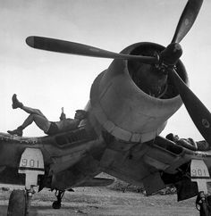 F4U Corsair ... somewhere in the Pacific