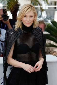 All the Gorgeous Stars at the Cannes Film Festival - Cate Blanchett = flawless. Click through to see more snaps of the stars at the Cannes Film Festival - Cate Blanchett, Cleopatra, Cannes Film Festival 2015, Female Profile, Actrices Hollywood, Portraits, Online Dress Shopping, Shopping Sites, Vogue